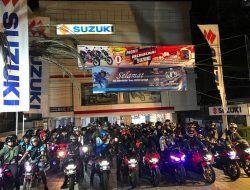 Bikers Suzuki  Meriahkan Kota Banjarmasin