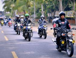 Gelar Sunmori Bikers Suzuki Nikmati Pantai Ujung Barat Pulau Jawa