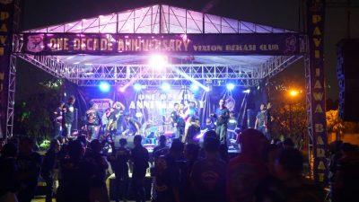 Gempita 1 Dekade Vixion Bekasi Club: Different In One Unity & Respect For Loyalty