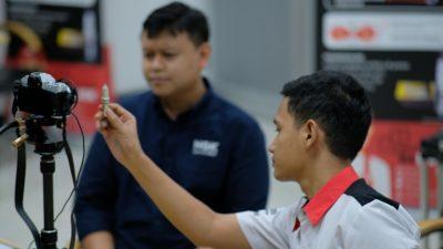 Silaturahmi Online, NGK Busi Edukasi Komunitas ALERT