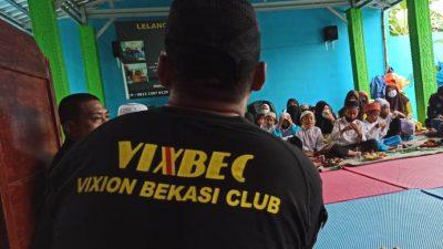 Terungkap Ini yang dilakukan Vixion Bekasi Club di Babelan