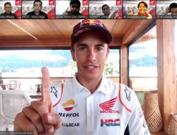 Marc Marquez dan Pol Espargaro Semangati Komunitas Honda di Indonesia